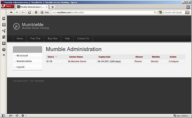 1. Server Overview